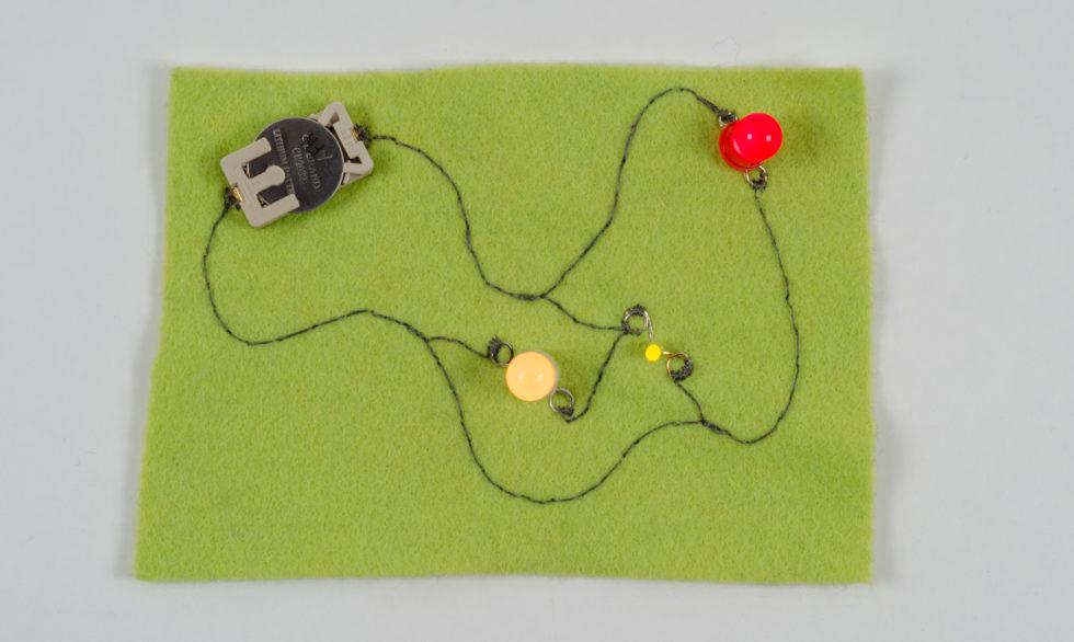 Tutoriales E-textiles : Textiles Electrónicos